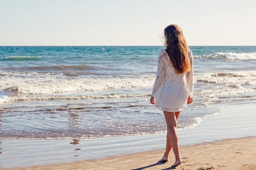 Ibizamode - Witte jurk
